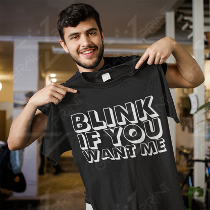 Blink if you want me ČRNA