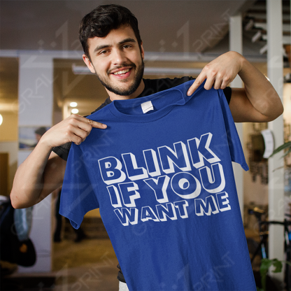 Blink if you want me TEMNO MODRA