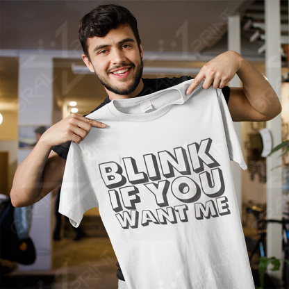 Blink if you want me BELA