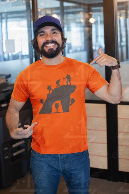 Planinci kratka majica GRAL